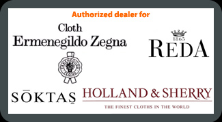 Singapore Authorized dealer for Zegna and Reda