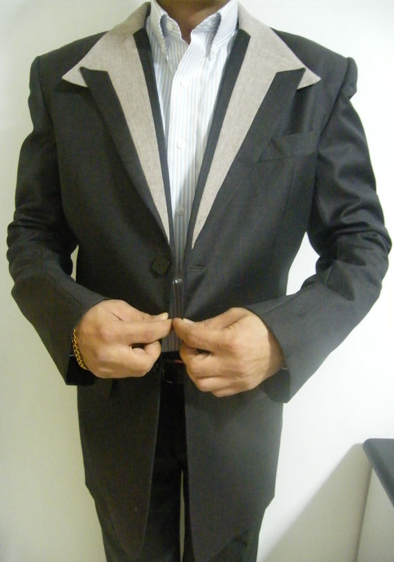 Jackets Fitting - My Singapore Tailor .com