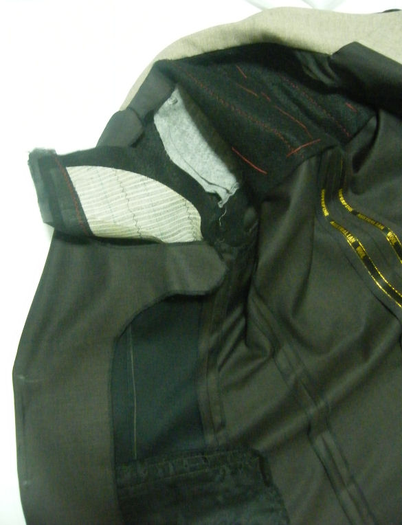 Jackets Finishing - My Singapore Tailor .com