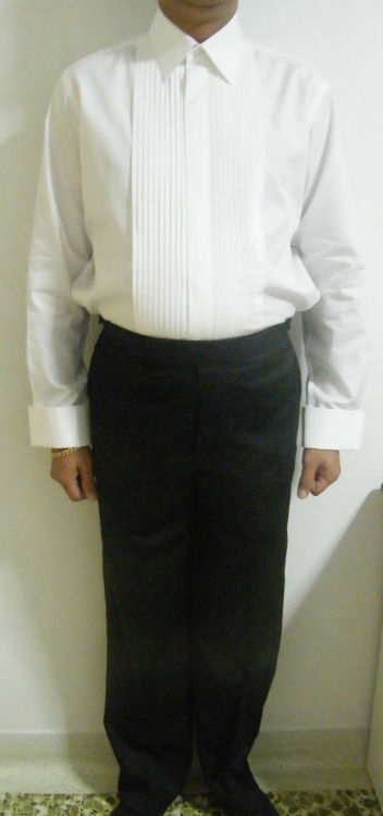 Tuxedo Shirt - My Singapore Tailor .com