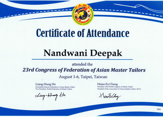 Federation of Asian Master Tailors